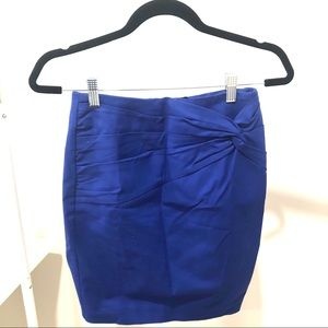 H&M Pencil Skirt in Blue size 6